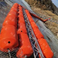 水库漂浮物拦漂设备拦污塑料排预算