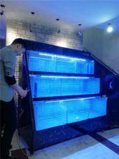 广州酒店海鲜池订做 深圳大型鱼缸订做厂家