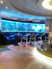 广州海鲜池定做厂家  佛山超白玻璃鱼缸订做