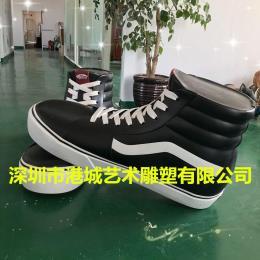 深圳专业运动鞋品牌玻璃钢球鞋雕塑定制厂家