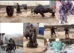 直销户外铸铜人物小品雕塑 多样款式仿铜浮