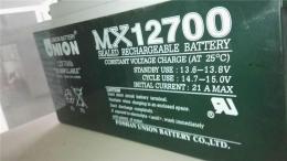 韩国友联蓄电池MX12240 12V24AH?#26032;址?#21147;