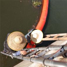 闽江漂浮物拦截浮桶垃圾拦漂排设备