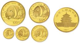 熊猫金银币套装价格表