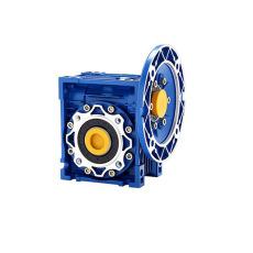 NMRV040蜗轮蜗杆减速机铝合金RV减速机60W