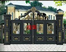天津铝艺庭院门天津铝艺大门铁艺围栏