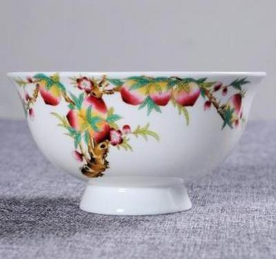 陶瓷餐具定做 老人寿诞礼品定制