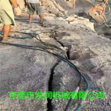 广元硬石头分裂大型劈石棒