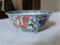 明斗彩盘花纹碗拍卖价格究竟是多少