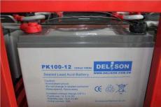 德利森蓄电池PK38-125G通信