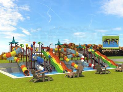 天津游乐设备儿童户外拓展设备大型户外滑梯