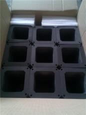 黑色硬點的泡棉 EVA棉 防火EVA托盤 深圳EVA
