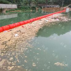 河道垃圾攔截塑膠浮筒浮式攔漂排尺寸