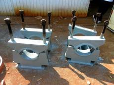 生產冷鍍鋅Z1管夾固定支座的原理