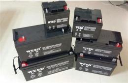 无敌蓄电池WD100-12通信基站