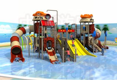 夏天的投资项目--水上乐园大型户外游乐设施