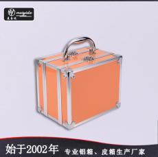 东莞美易达外贸品质韩版铝合金化妆箱