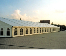 出售高端篷房婚禮紅棚戶外遮陽篷房廠家直銷