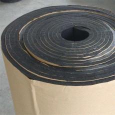 自粘胶复合橡塑保温板 隔热铝箔屋顶自粘橡