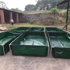 环保无味帆布游泳池帆布水池储水池定做
