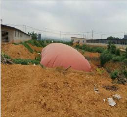 安徽沼气储存袋100立方红泥沼气袋安装工艺