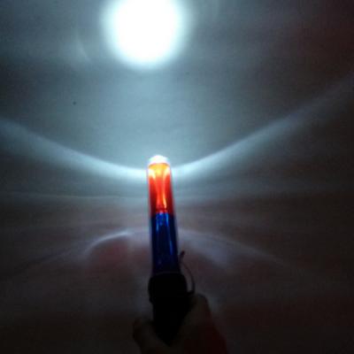 甘肅威盾交通執勤充電式紅藍爆閃反光熒光棒