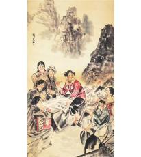 袁江的畫目前市場價值多少錢 北京字畫鑒定