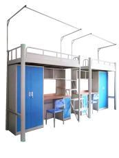 东莞多功能公寓床大学生宿舍上床下桌组合床