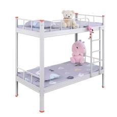 东莞上下床铁艺床宿舍上下铺双层高低架子床