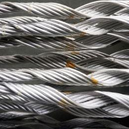 高壓架空電力金具 光纜護線條 鋁合金護線條