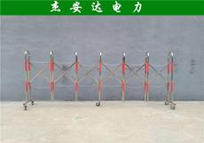 警示带式不锈钢伸缩围栏 5五米双层隔离带安