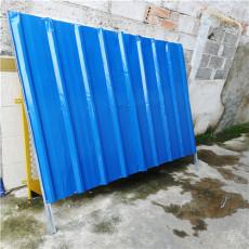 小区建筑施工挡板   安全施工彩钢板挡板