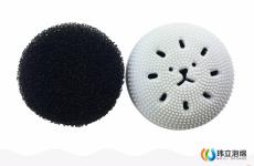 小章魚洗臉刷內芯海綿球/潔面刷/海綿起泡球