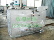 处理量80吨/小时溶气气浮机