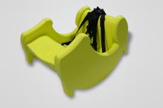 深圳數控CNC手板嬰兒椅手板