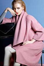 百分百100羊绒羊毛大衣批发女装羊绒大衣批