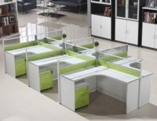 四人隔断桌 组合工位屏风桌合肥厂家定做