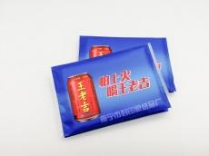 王老吉广告纸巾订做就找好印象