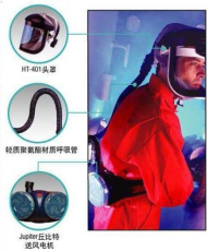 个人防护装备TR315动力送风呼吸防护器