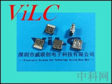 AF90度-破板全貼USB母頭-卷口-無柱 盤裝LCP