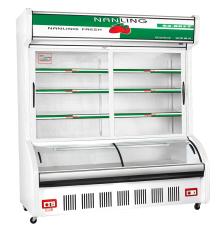 南凌冷柜点菜柜HY-1600?#23433;?#28903;烤冰箱