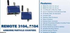 REMOTE 5104连续监控系统苏州鸿瑞源净化
