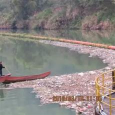 各種尺寸鋼絲繩攔污排聚乙烯浮桶