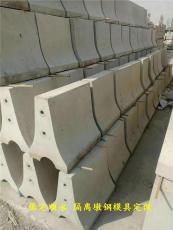 防撞隔離墩鋼模具規格設計大全