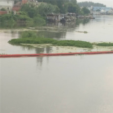 攔截打撈水葫蘆浮桶浮式攔污排裝置