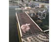 德州包膠滾筒線 鋁型材傾斜輸送滾筒