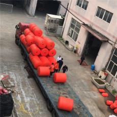 水库防撞塑料浮桶聚乙烯拦漂排设施