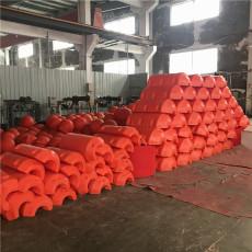 无污染拦污浮筒漂浮式拦漂排装置
