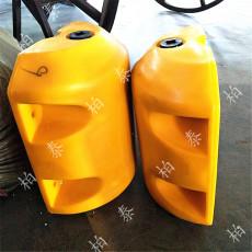 PE材质环保浮筒 塑料两半拦污浮筒