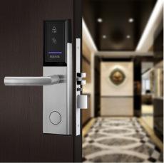 廣東酒店鎖 賓館短租房別墅用電子門鎖 刷卡